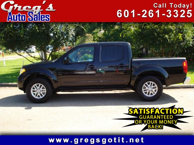 2016 Nissan Frontier SV CREW CAB 5AT 2WD