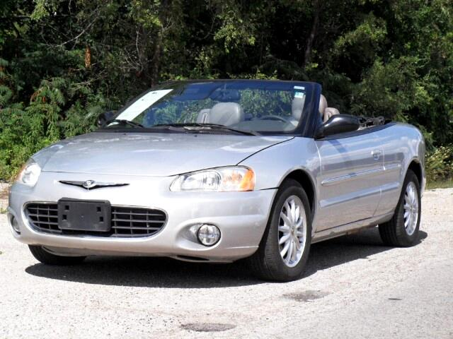 2003 Chrysler Sebring LXi Convertible