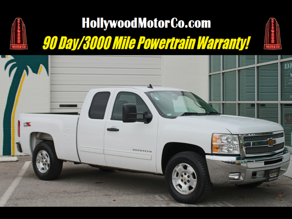 2013 Chevrolet Silverado 1500 LT Ext. Cab Short Bed 4WD