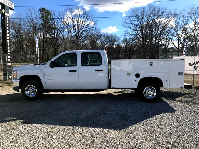 used 2009 chevrolet silverado 2500hd work truck crew cab long box 4wd for sale in raleigh nc. Black Bedroom Furniture Sets. Home Design Ideas