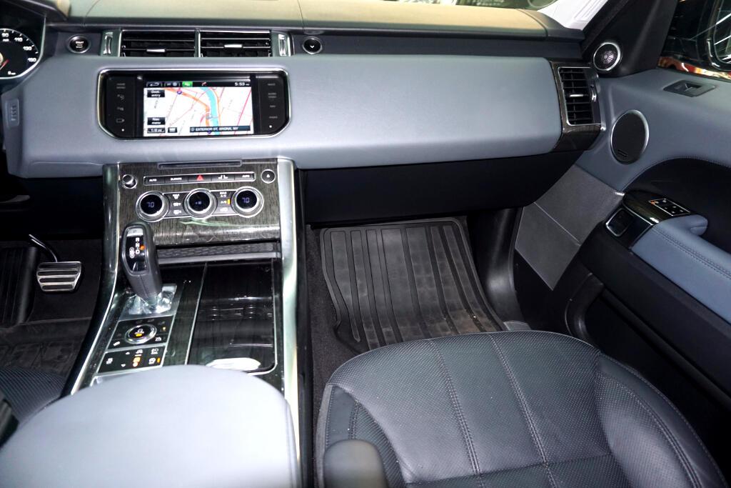 2014 Land Rover Range Rover Sport 5.0L V8 Supercharged