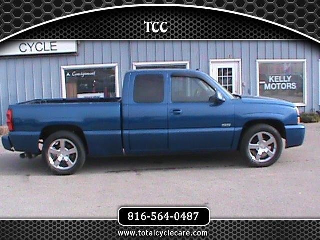 used 2004 chevrolet silverado 1500 ss ext cab short bed. Black Bedroom Furniture Sets. Home Design Ideas