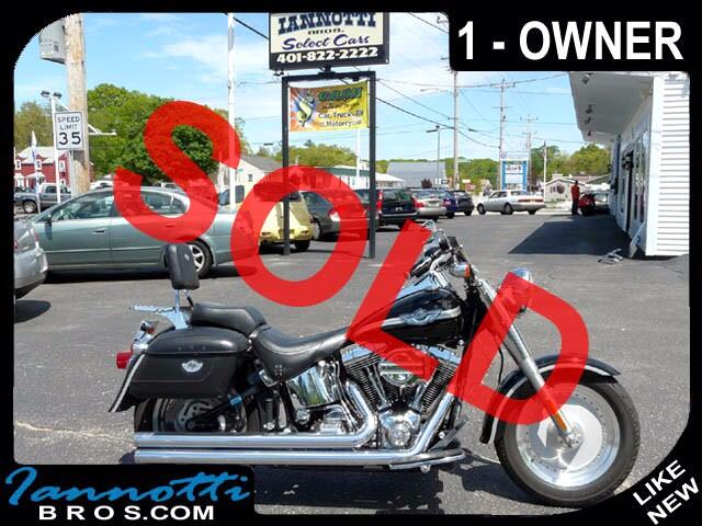 2003 Harley-Davidson Fat Boy Anniversary 1-Owner 22K Original Miles