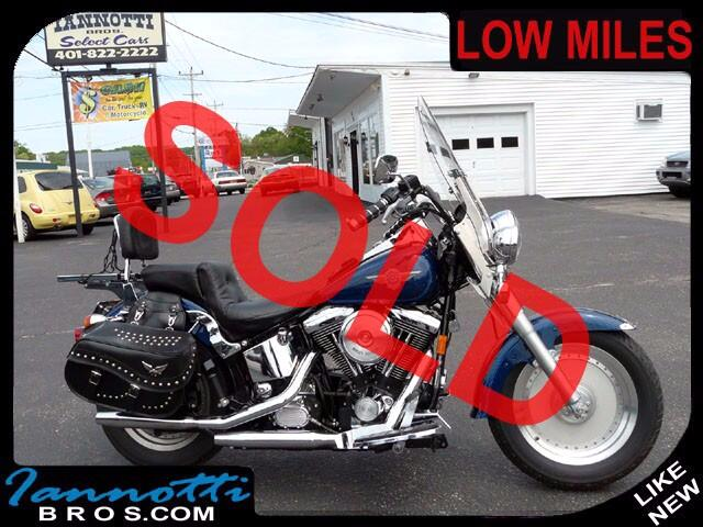 1999 Harley-Davidson Fat Boy Beautiful Blue Paint Only 9200 Original Miles
