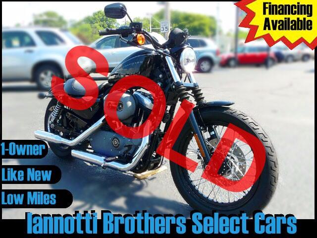 2009 Harley-Davidson XL1200N (Nightster) 1-Owner Only 1300 Original Miles