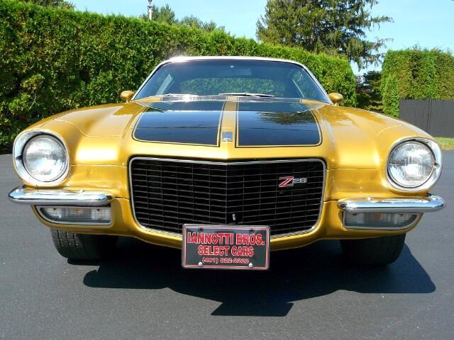 1970 Chevrolet Camaro Z-28 Rebuilt LT-1 350 4-Speed 12-Bolt Rearend