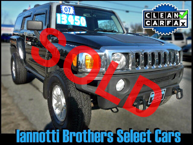 2007 HUMMER H3 4X4 5-Speed Alloy Wheels Clean CarFax Report 112K
