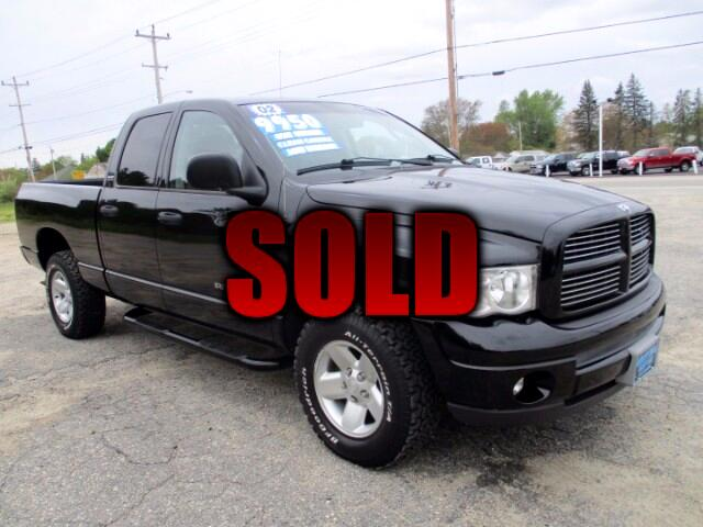 2002 Dodge Ram 1500 SLT Quad Cab Short Bed 4WD
