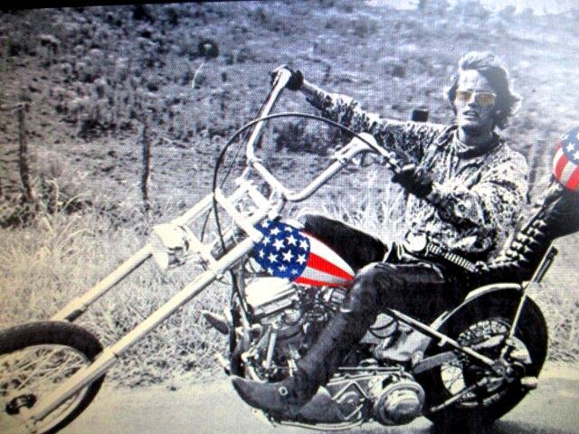 1950 Harley-Davidson Classic CAPTAIN AMERICA