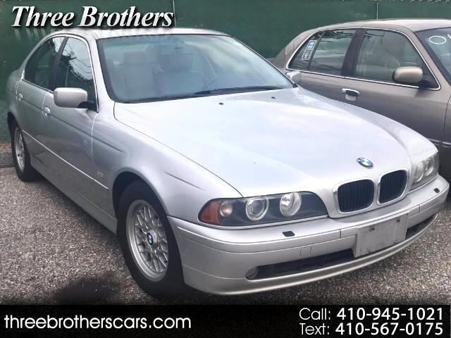 2002 BMW 5-Series 525i