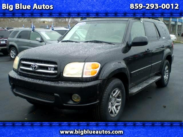 used 2003 toyota sequoia limited 4wd for sale in lexington ky 40505 big blue autos. Black Bedroom Furniture Sets. Home Design Ideas