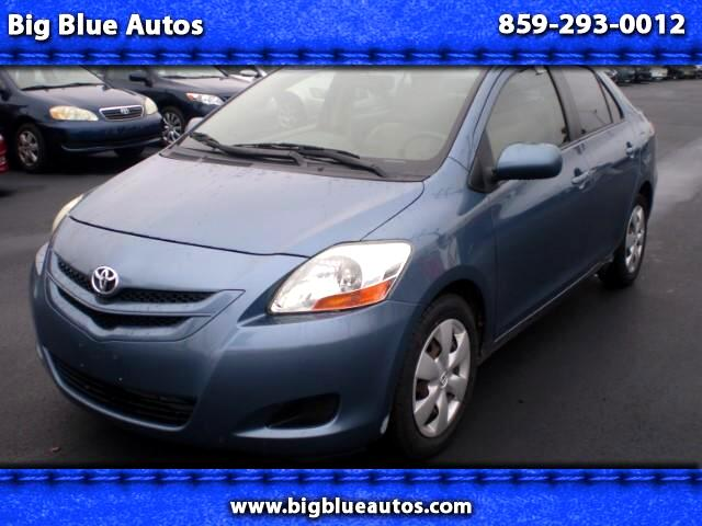 used 2008 toyota yaris sedan for sale in lexington ky 40505 big blue autos. Black Bedroom Furniture Sets. Home Design Ideas