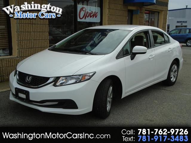 2015 Honda Civic LX Sedan CVT