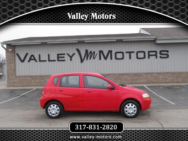 2004 Chevrolet Aveo Base 5-Door