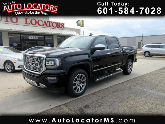 2016 GMC Sierra 1500 Denali Crew Cab Long Box 4WD