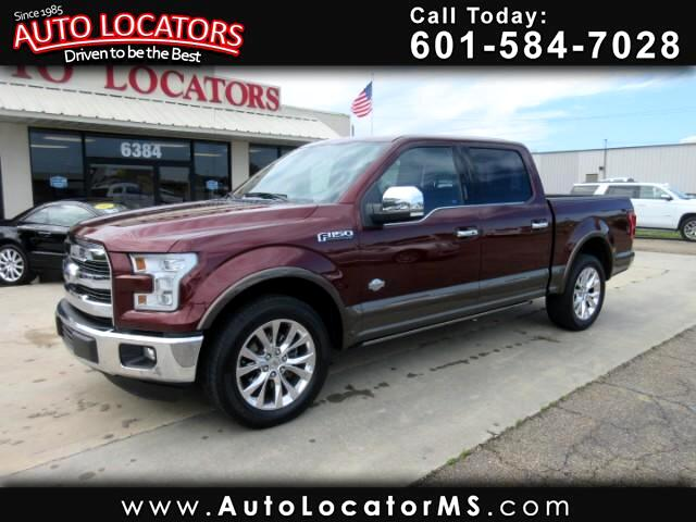 2015 Ford F-150 King Ranch SuperCrew Short Bed 2WD