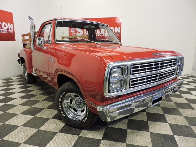 1979 Dodge Lil Red Truck Express Adventurer 150