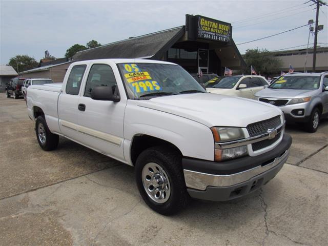 2005 Chevrolet Silverado 1500 Work Truck Ext. Cab Long Bed 2WD