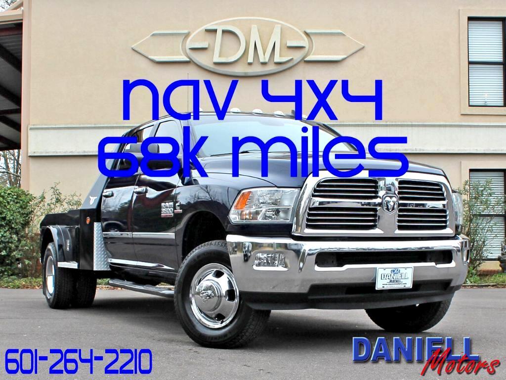2013 RAM 3500 SLT Crew Cab SWB 4WD DRW