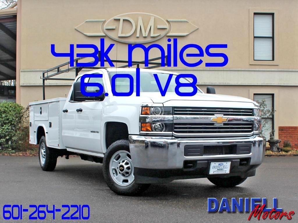 2015 Chevrolet Silverado 2500HD Work Truck Double Cab 2WD