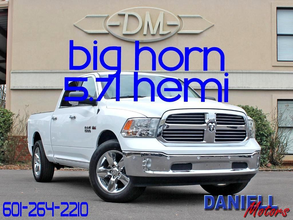 2017 RAM 1500 SLT Big Horn Crew Cab SWB 2WD