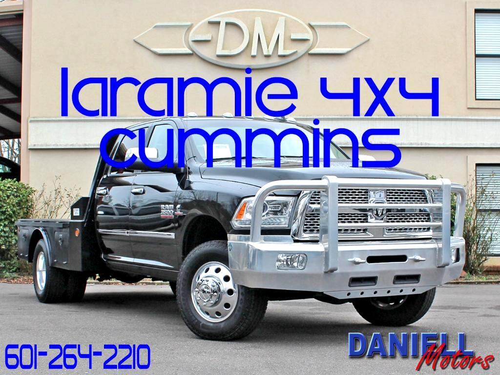 2016 RAM 3500 Laramie Crew Cab 4WD DRW