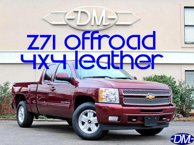 2013 Chevrolet Silverado 1500 Z71 Ext. Cab Short Bed 4WD LT