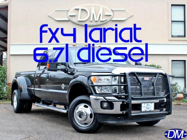 2014 Ford F-350 SD Lariat Crew Cab DRW 4WD