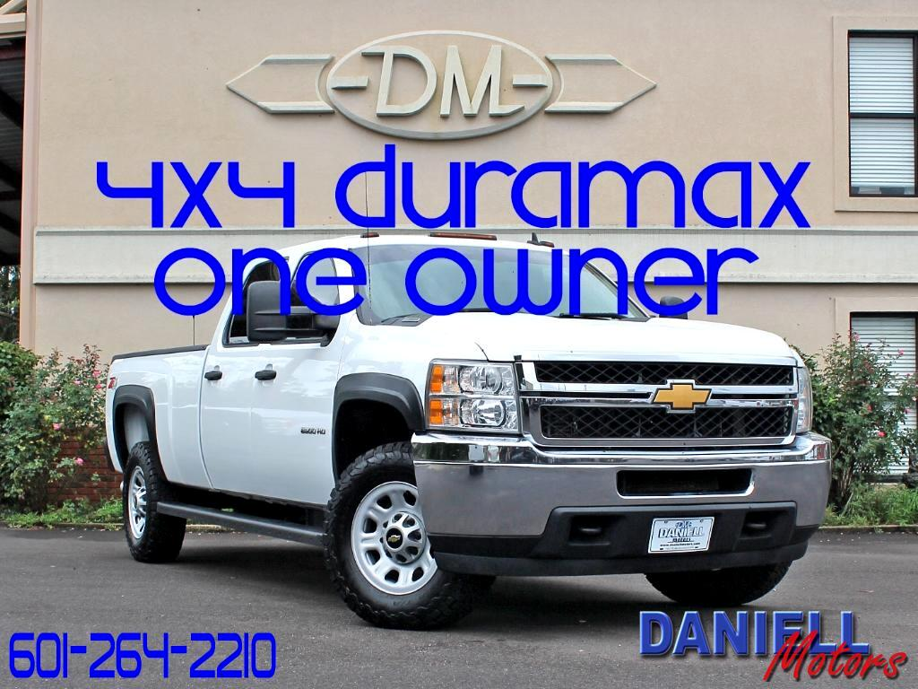 2013 Chevrolet Silverado 2500HD Work Truck Crew Cab Long Box 4WD
