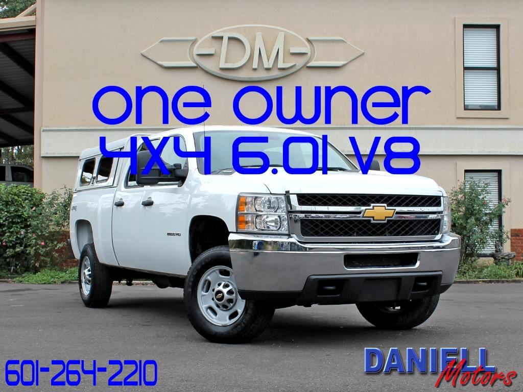 2013 Chevrolet Silverado 2500HD Work Truck Crew Cab 4WD