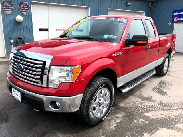 2012 Ford F-150 XLT SuperCab Short Bed 4WD