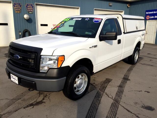 2013 Ford F-150 XLT 8-ft. Bed 4WD