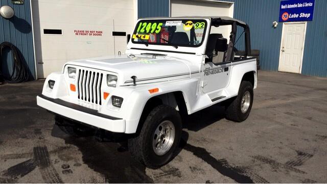 1992 Jeep Renegade Sport 4WD