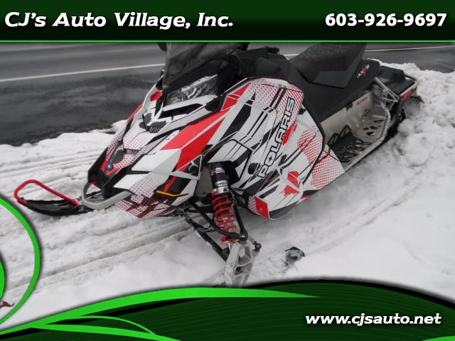 2015 Polaris Snowmobile Rush 600 Axys