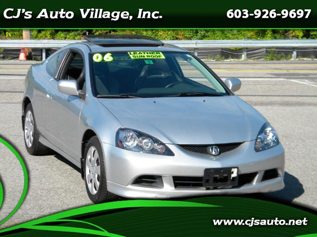 2006 Acura RSX Coupe with Leather