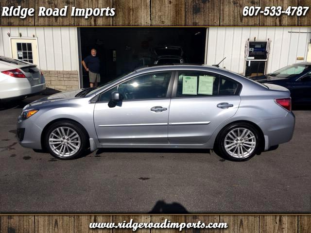 2014 Subaru Impreza Limited 4-Door+S/R+NAVI
