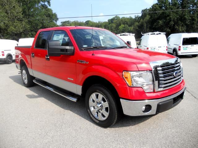 2012 Ford F-150 XLT SuperCrew Short Bed 2WD