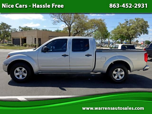 2011 Nissan Frontier SV Crew Cab 2WD LWB