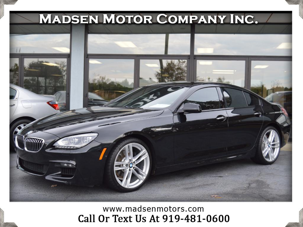 2015 BMW 6-Series Gran Coupe 640i