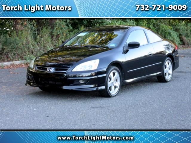2007 Honda Accord EX-L V-6 Coupe 6-Speed