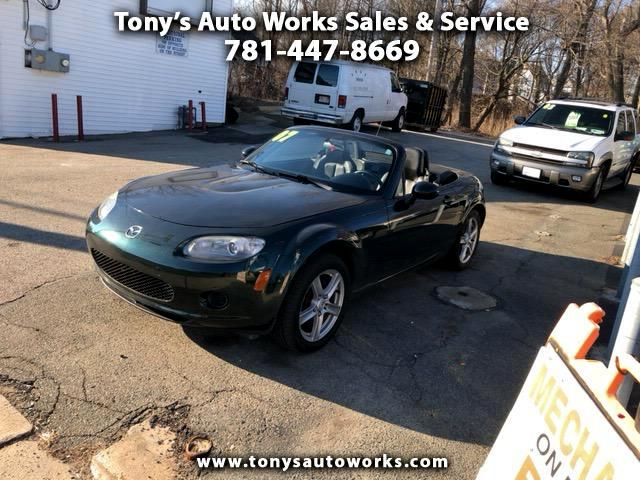 2007 Mazda MX-5 Miata 2dr Conv Base Manual