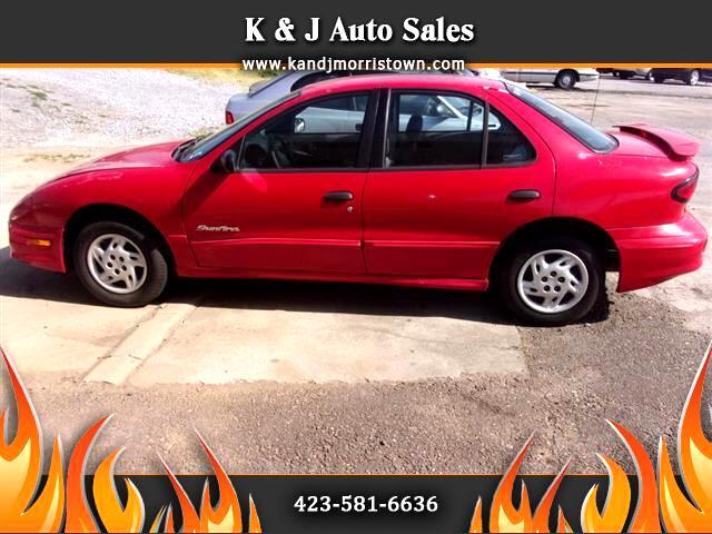 2001 Pontiac Sunfire SE sedan