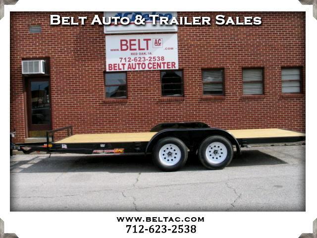 2017 H&H Speed Loader 8_5x18 C-Series Manual tilt Speedloader trailer