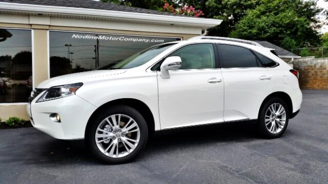 2014 Lexus RX 350 FWD Premium Plus Package Blind Spot System