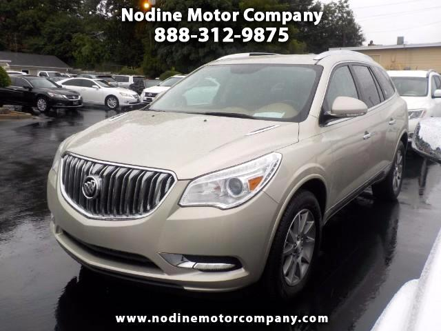 2014 Buick Enclave Leather Package Lane Change Montor 3rd Row 7 Passa