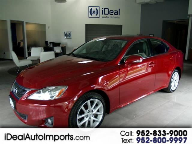 2012 Lexus IS 250 AWD REAR PARKING AID BLUETOOTH