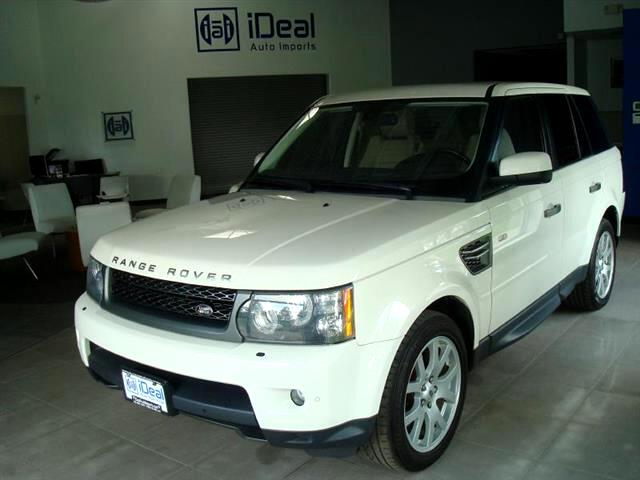 2010 Land Rover Range Rover Sport HSE DVD NAV LUXURY PKG TOW PKG