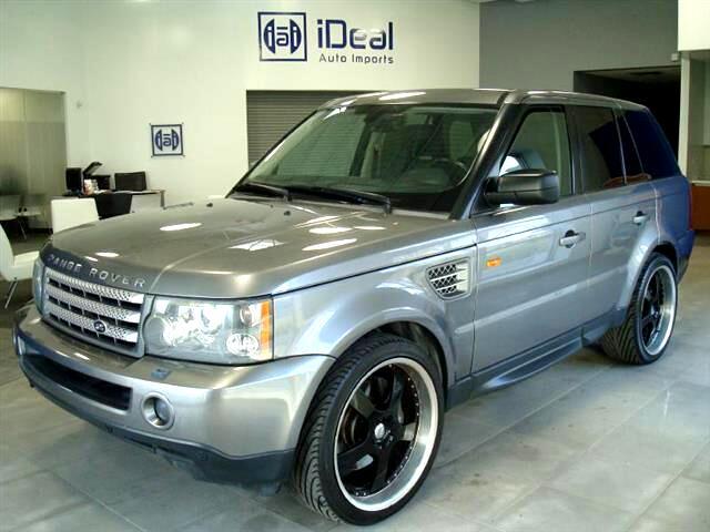 2007 Land Rover Range Rover Sport SUPERCHARGED DUAL DVD NAV