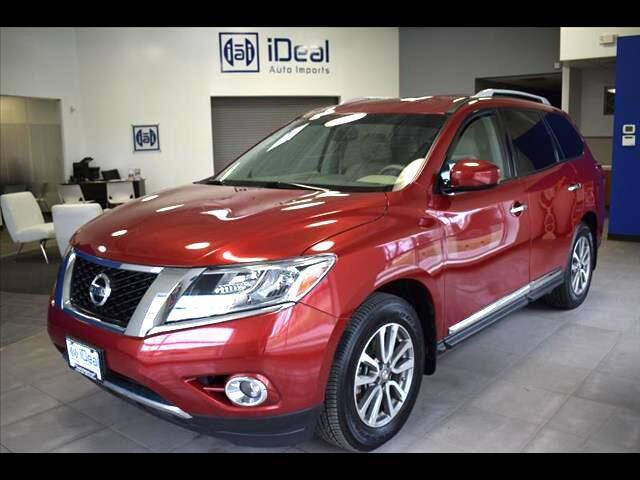 2014 Nissan Pathfinder SL BACKUP CAM HEATED LEATHER