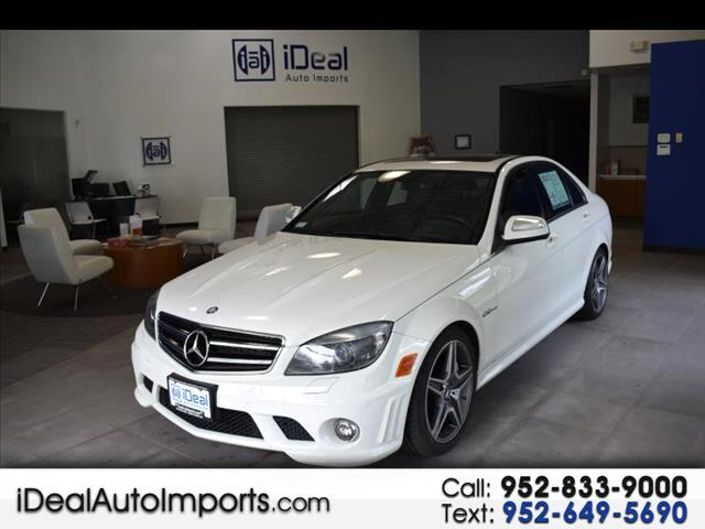 2009 Mercedes-Benz C63 AMG AMG NAVIGATION SUNROOF LEATHER